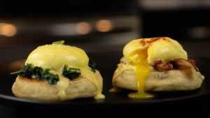 Benedict and Florentine eggs