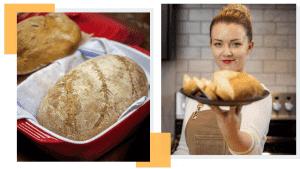 Dutch oven bread making recipe