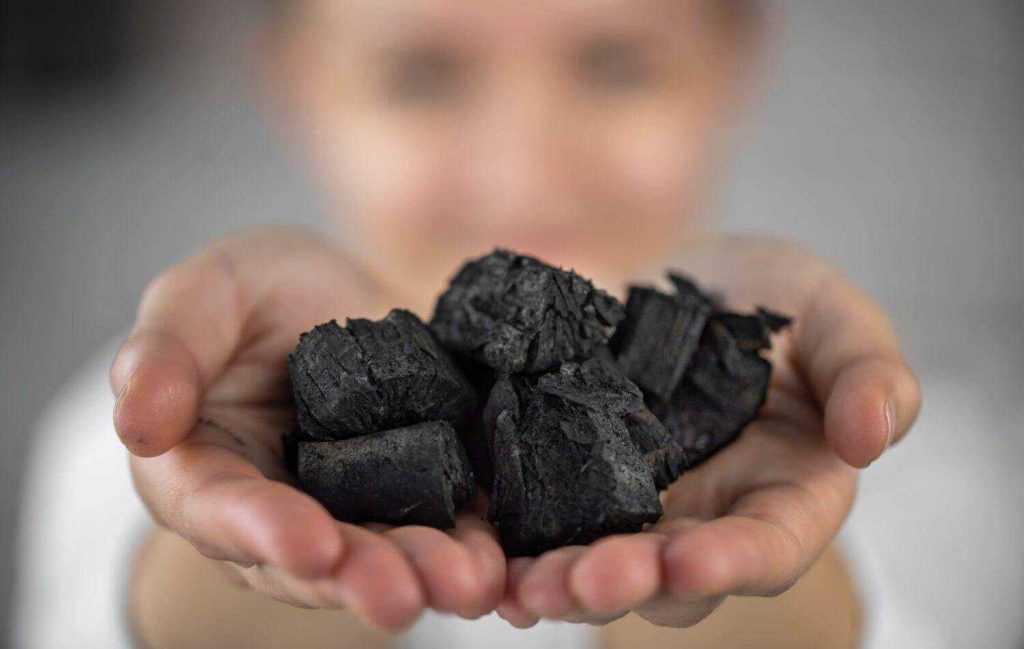 Edible charcoal