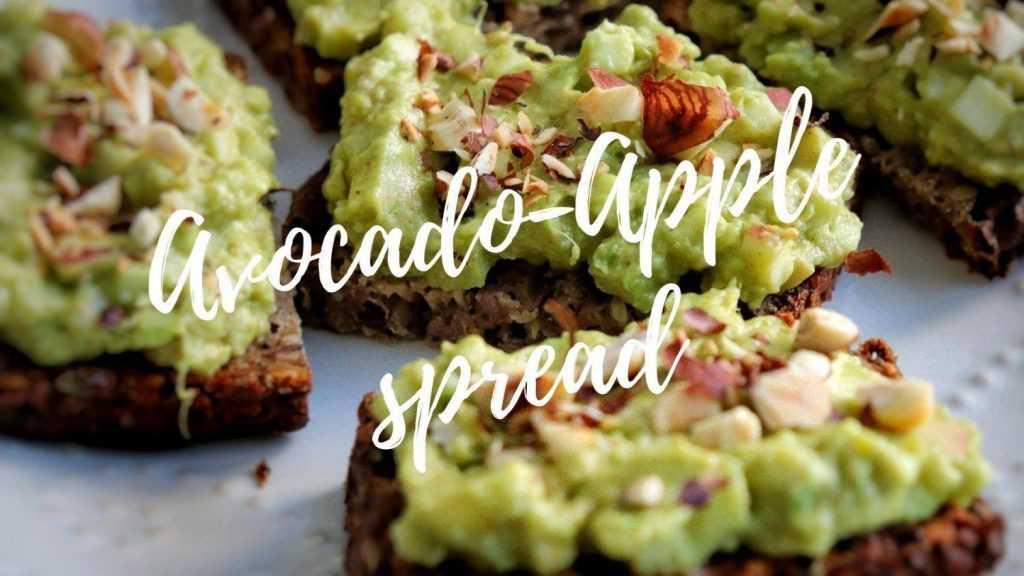 Avocado-apple spread