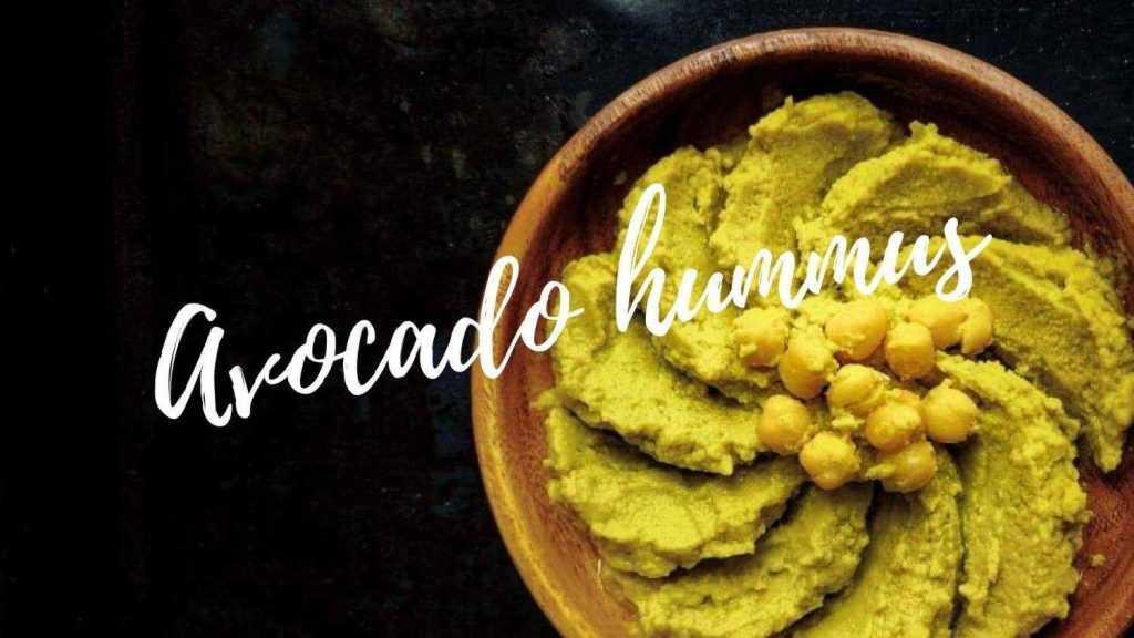 Acocado hummus