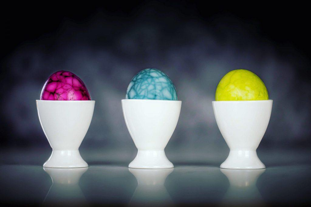 Soft-boiled DRAGON EGGS [Easter special]