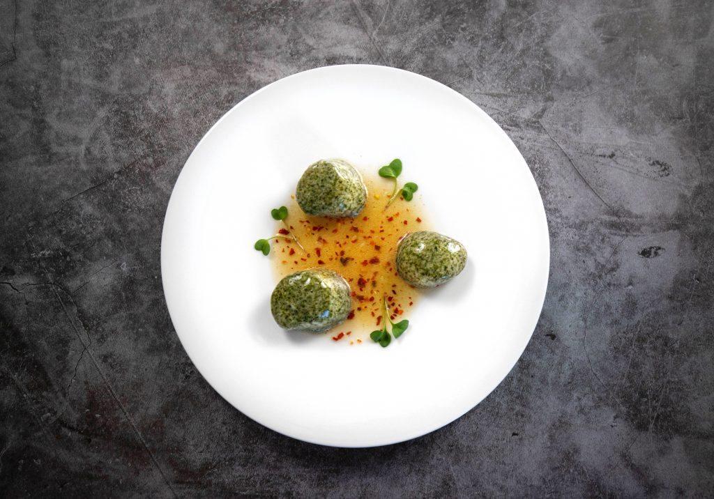 Edible Scallop Stones | EASY fine dining recipe