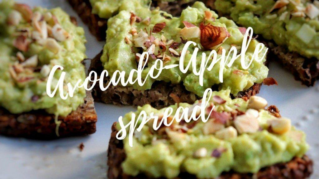 Avocado-apple spread