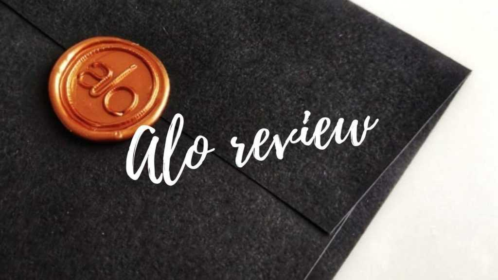 Alo restaurant review
