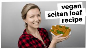 vegan wheat meat | seitan recipe