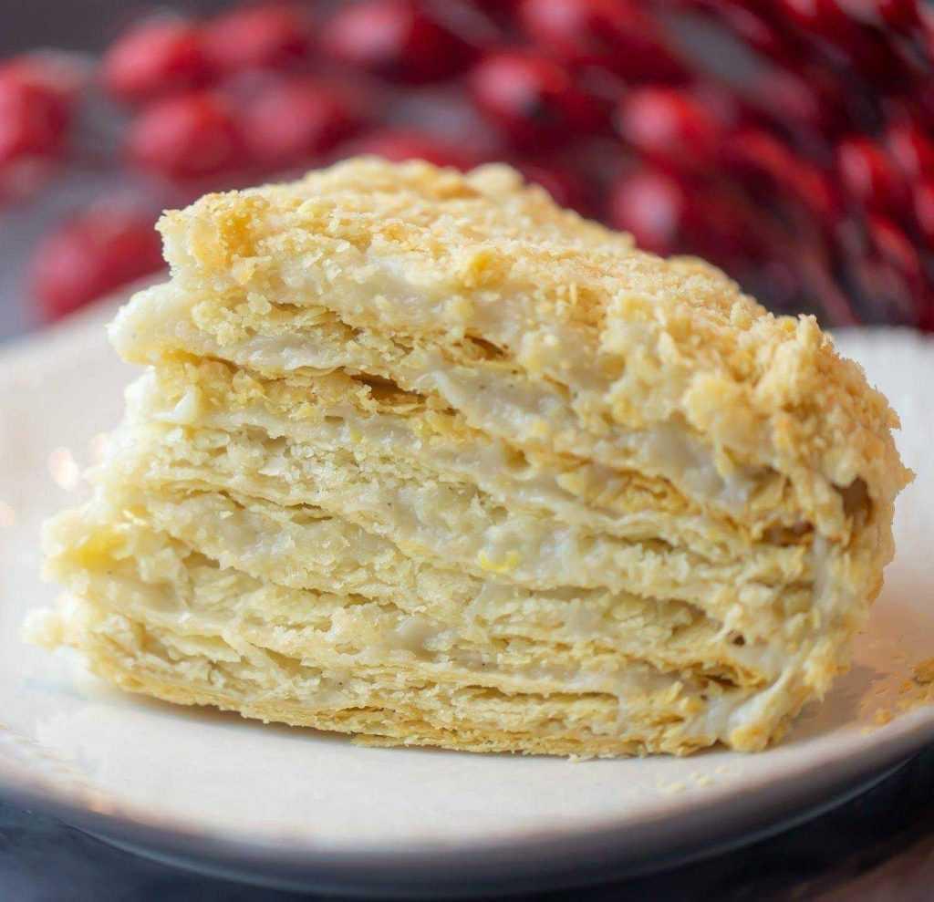 vegan napoleon cake