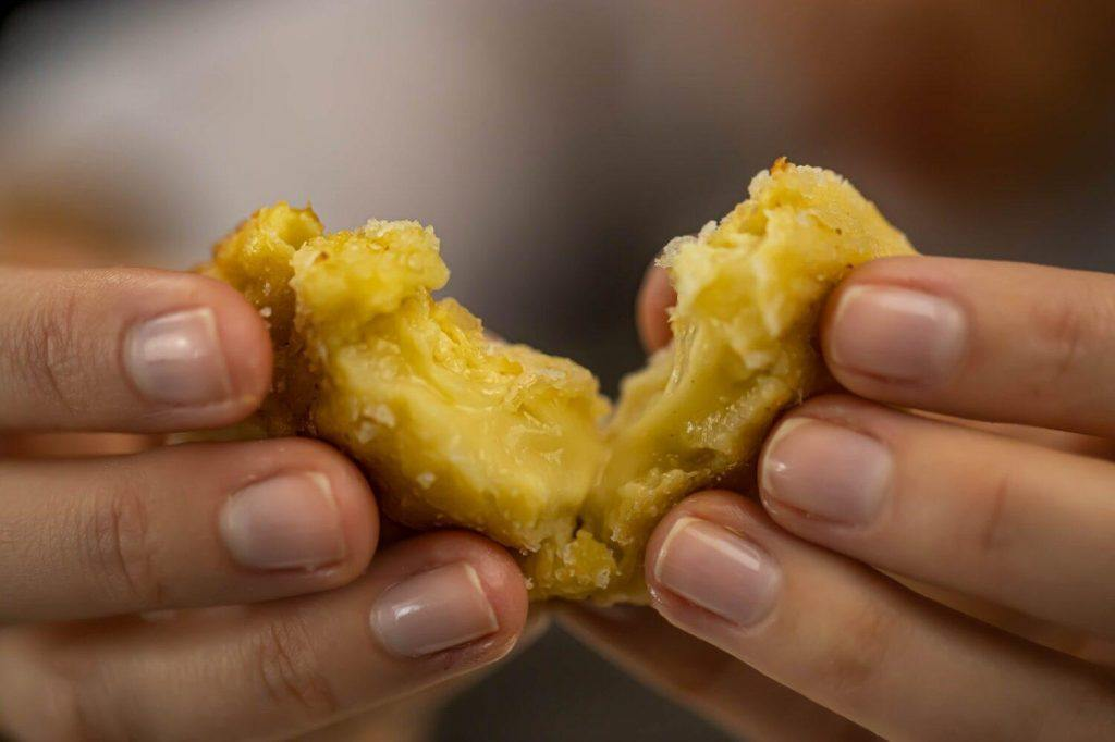 Deep fried custard