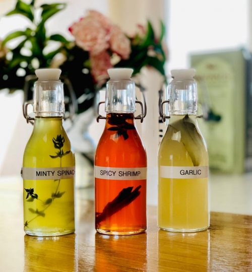 Infuse oil