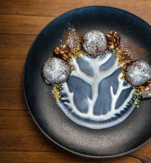Greek vegan no-bake chocolate cake recipe